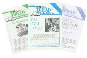 Our bi-monthly magazine, Bread For God's Children